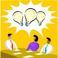 Creative thinking team