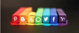Social media Pastels